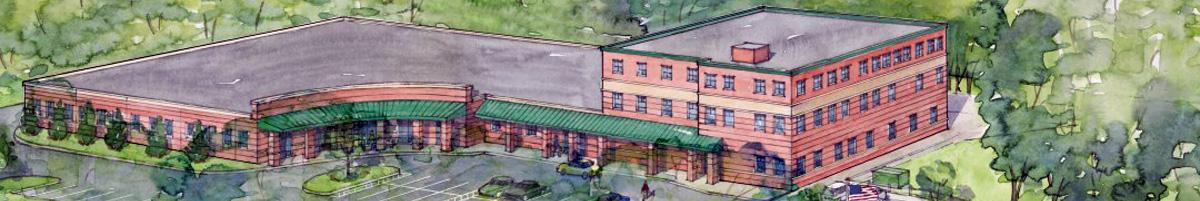 Rendering of League School Building