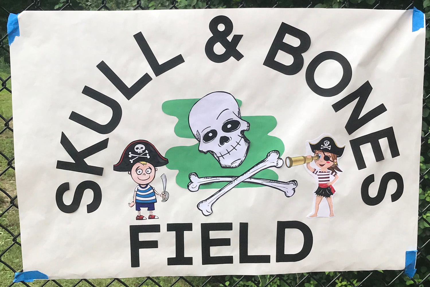 Skull and bones sign