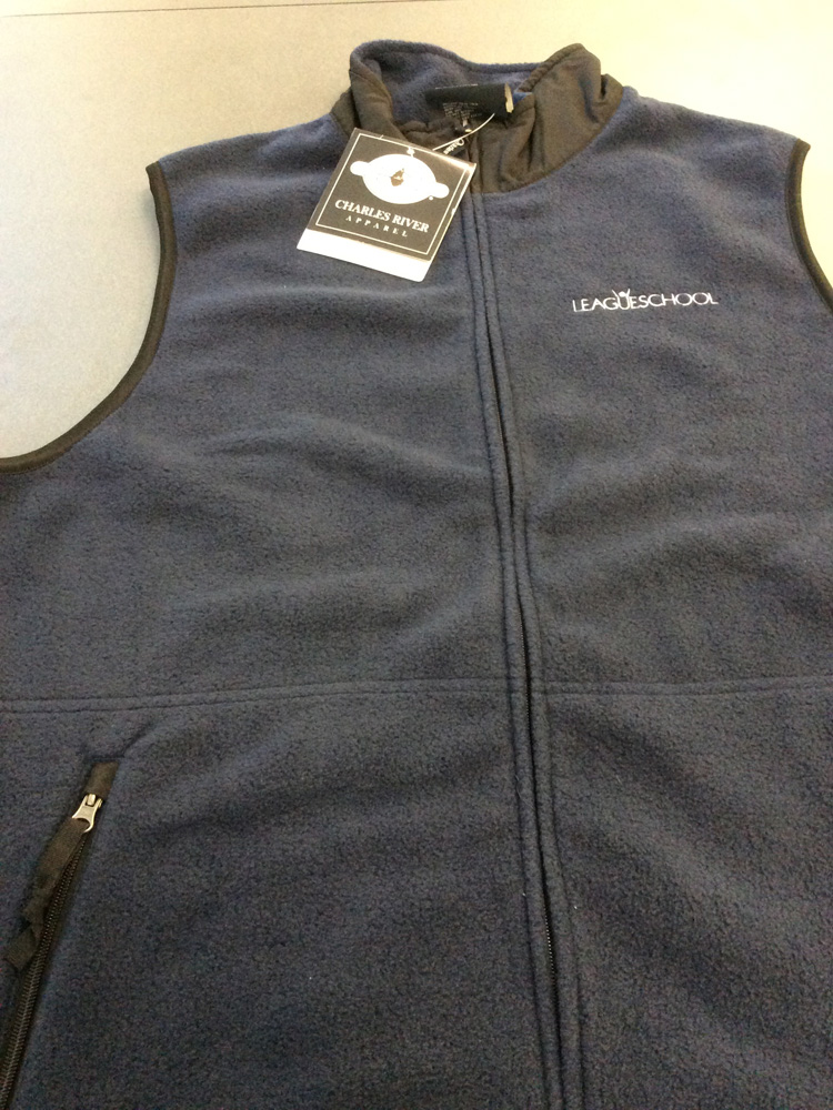 Dark Grey League Vest